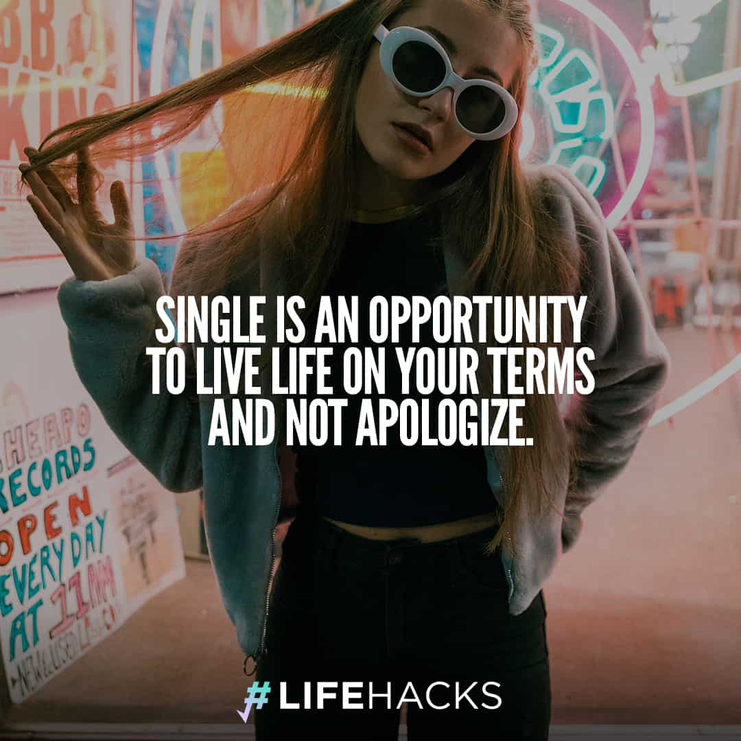 30 Being Single Quotes That Will Make People Re-think ...Quotes About Being Single And Free