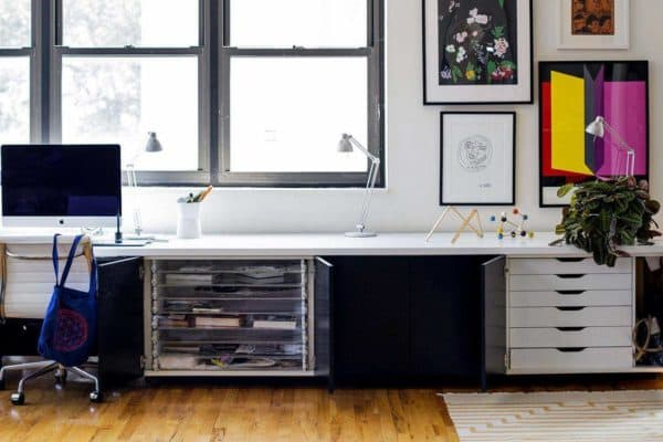 IKEA Life Hack: A Modern Stand-Up Desk
