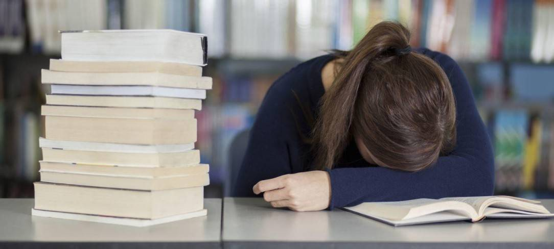 how not to sleep while studying