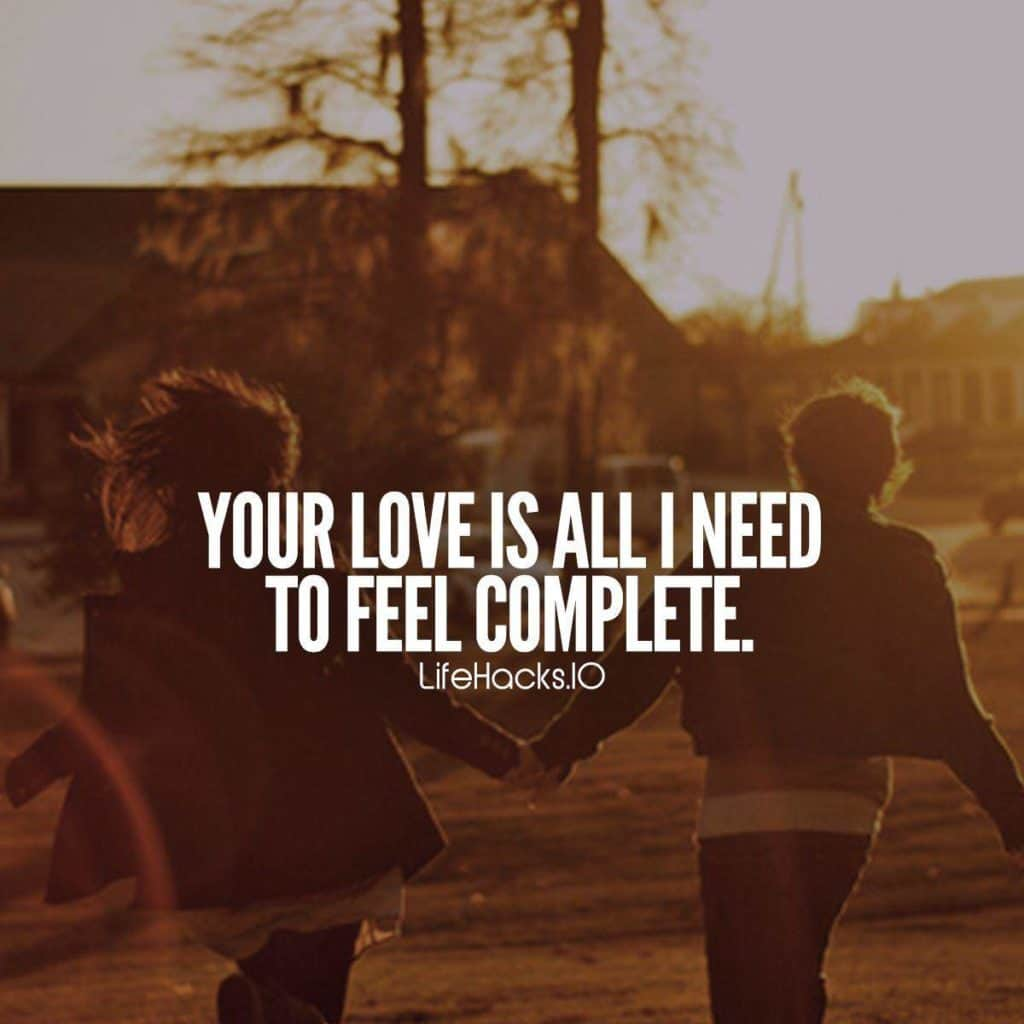 Need Love Quotes Fascinating 50 Love Quotes & Sayings Straight From The Heart January2018