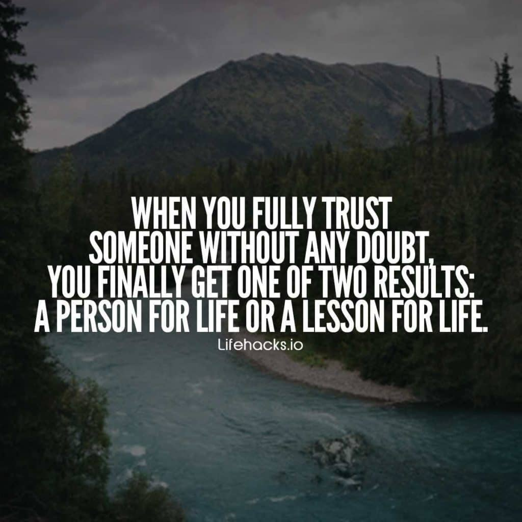 Trust Quotes Custom 50 Trust Quotes That Will Change The Way You Look At That Unfaithful