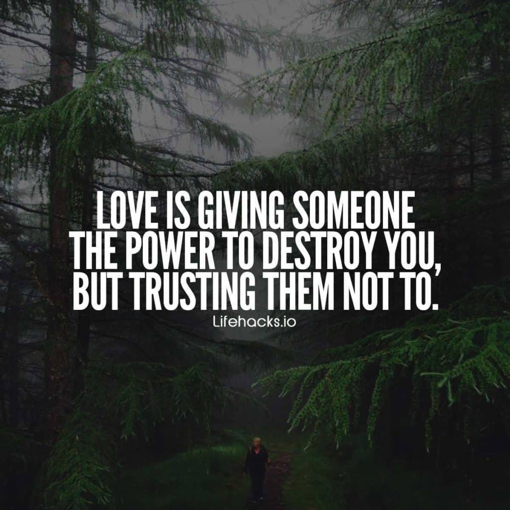 Love Is Quotes: 50 Trust Quotes That Prove Trust Is Everything